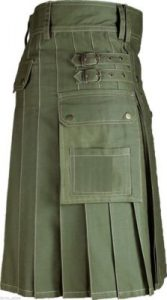 Olive Green Color kilt