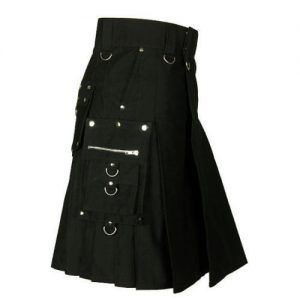 black kilts for mens