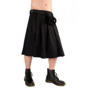 denim shorts mens kilt
