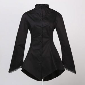 Gothic style clothing coat