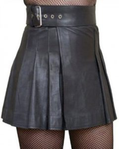 black Leather Woman