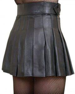 best black Leather Woman