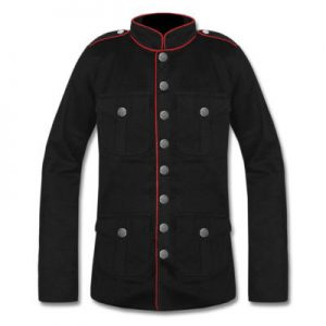 military army pea coat mens