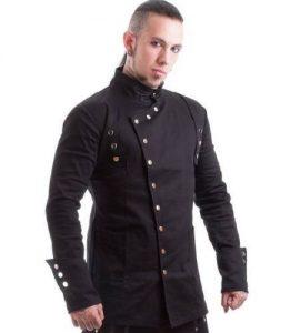 modern Gothic jacket men