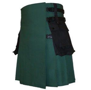 Green Black Color kilt