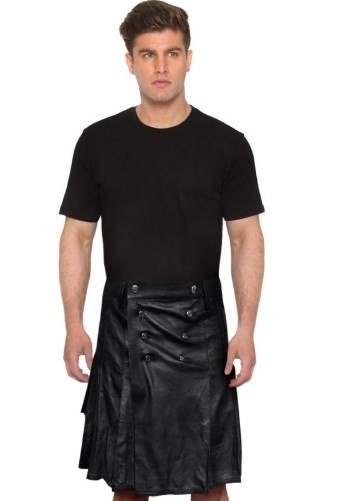 leather kilt mens