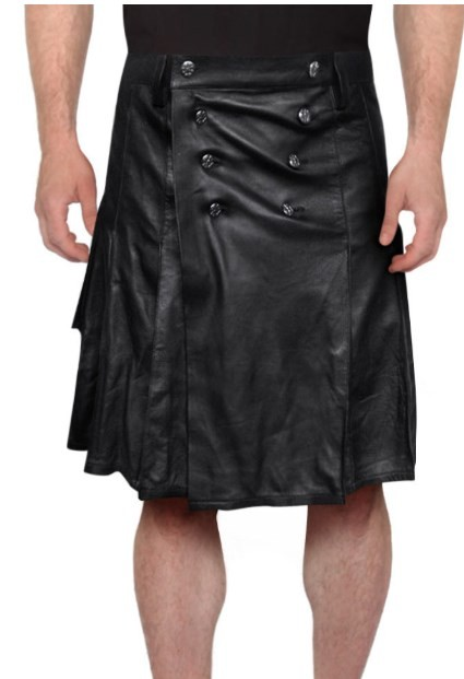 leather kilt mens new
