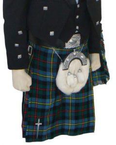 Macleod of Harris Tartan kilt