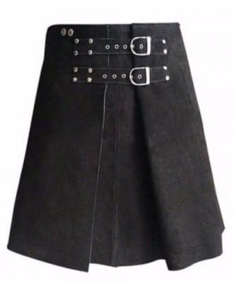 leather warrior skirt