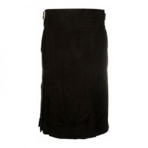 poly viscose kilt