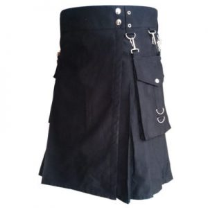 new color black kilt
