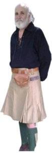 khaki shorts men kilt