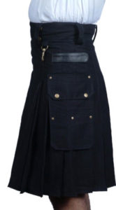 mens black dress