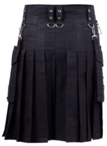 new darkest black color kilt