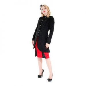 stylish womens military style jacket