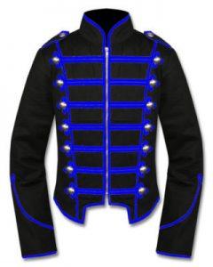 drummer military jacket mens