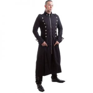 steampunk clothing mens coat