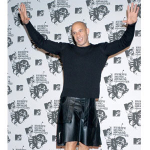 modern leather kilt