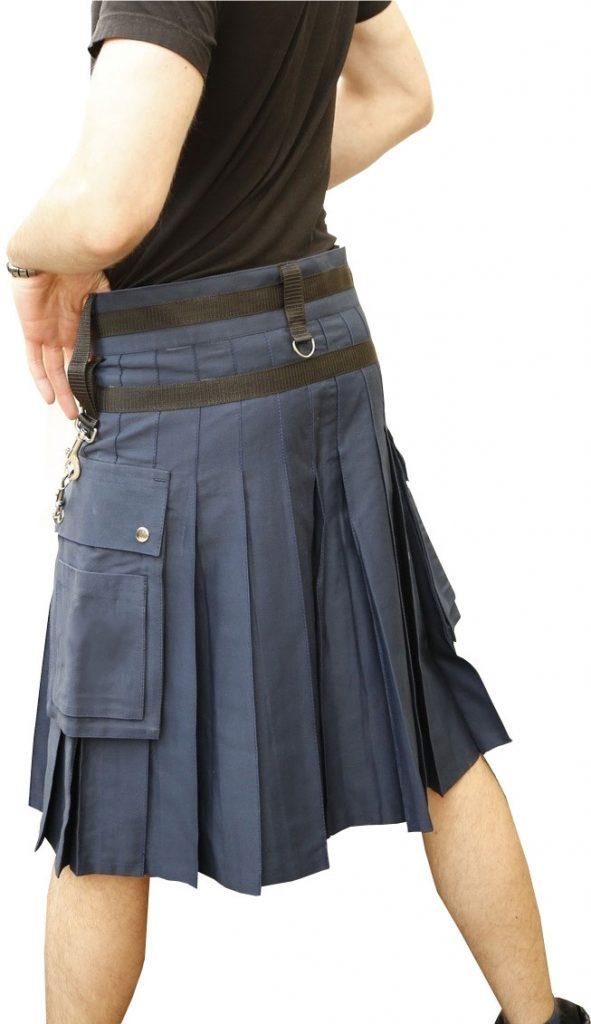 Navy Blue Kilt Utility