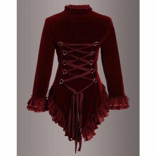 buy Velvet Coat For Ladies
