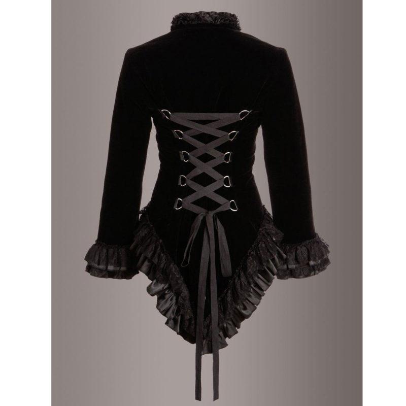 Velvet Coat For Ladies