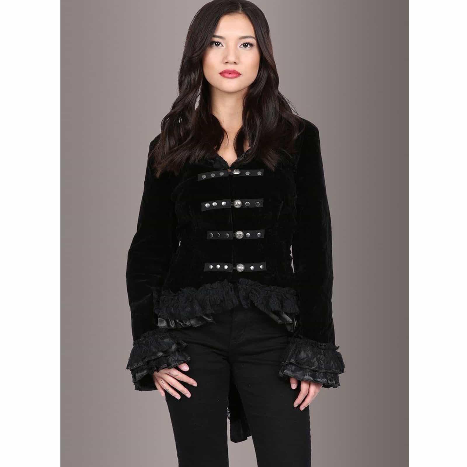 Velvet Coat For Ladies Sale