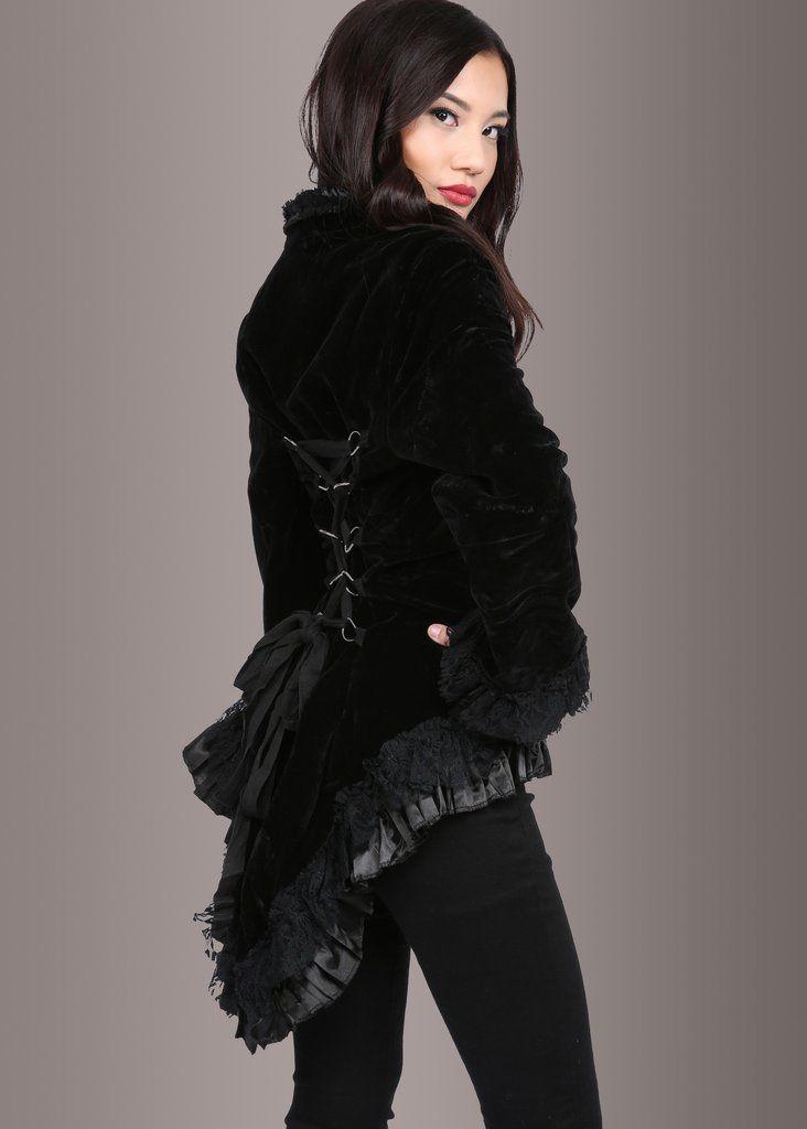 beautiful Velvet Coat For Ladies