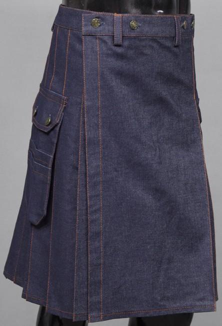 Jeans Utility Kilt