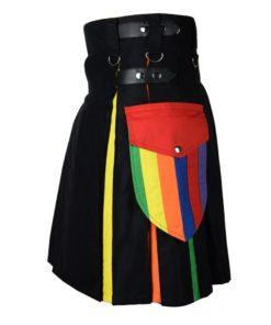 rainbow kilt