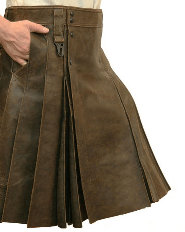 New Leather Kilts For Big Guys