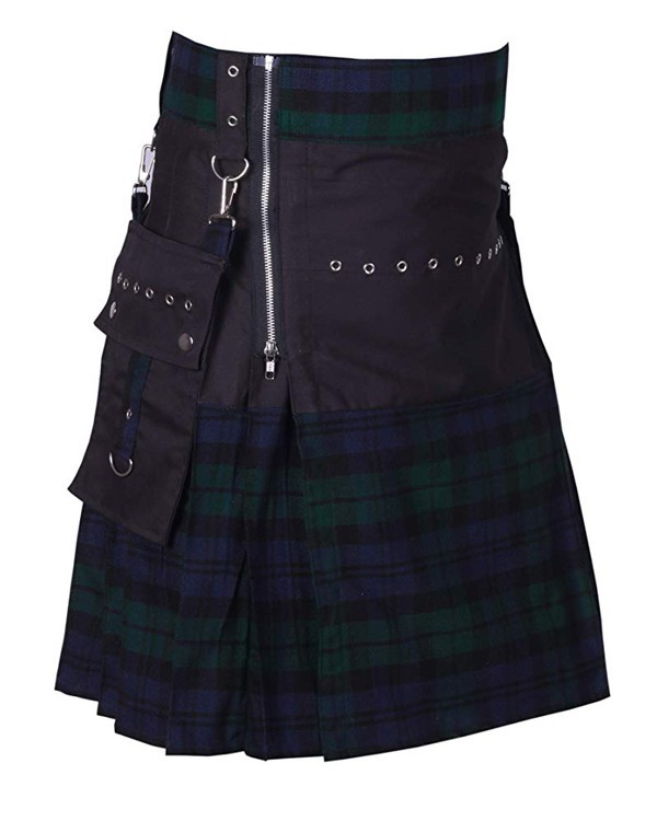 Black Watch Fashionable Tartan Kilt