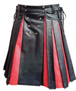 Leather Fashion Kilt