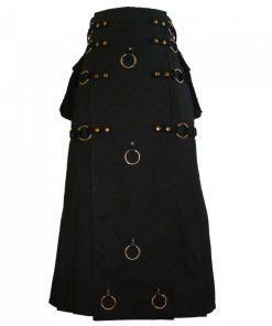 Long Gothic Steampunk Kilt