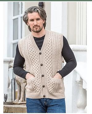 Mens Merino Wool Sweater