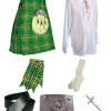 Irish Tartan Kilt Outfit