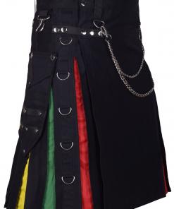 Modern Rainbow Hybrid Kilt