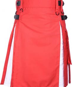 Red White Hybrid Kilt